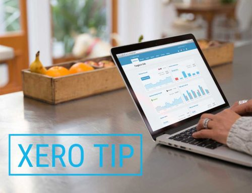 Xero pages tip