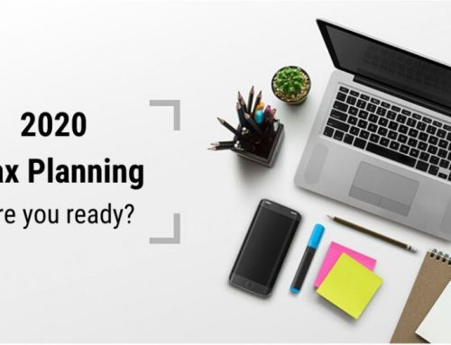 2020 Tax Planning – What you need to know
