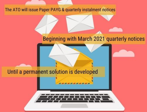 ATO temporarily reinstates paper instalment notices